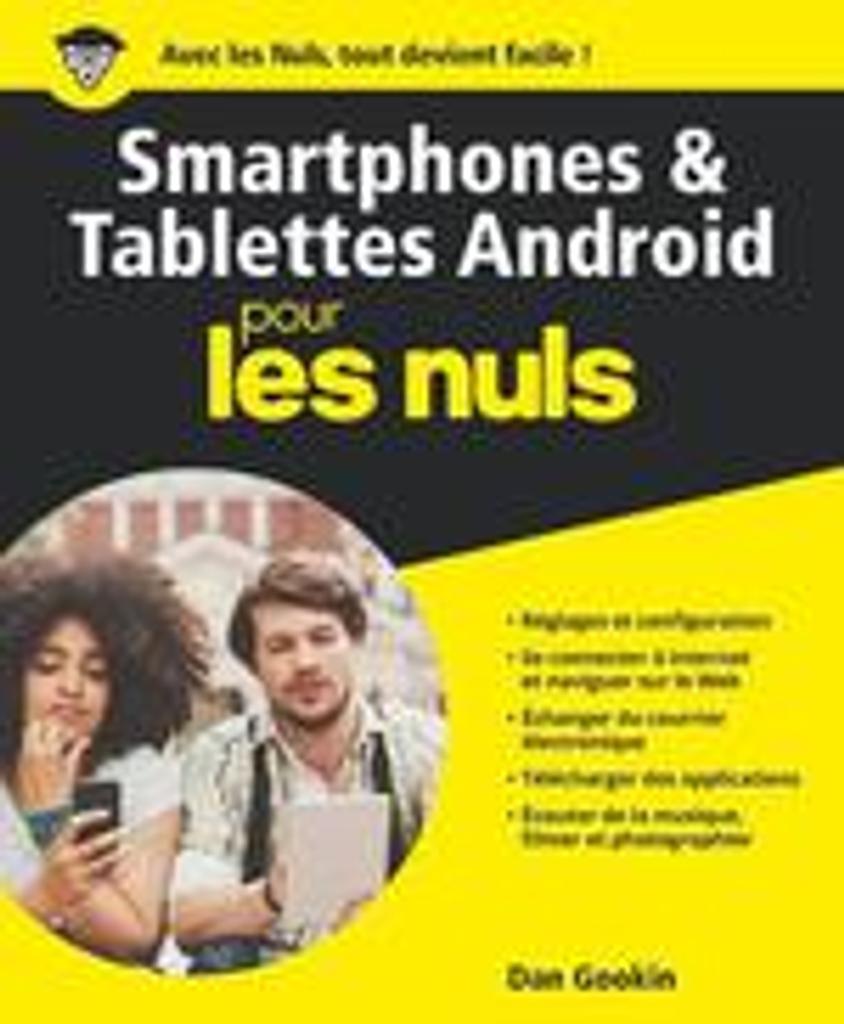 Les smartphones et les tablettes Android pour les nuls |