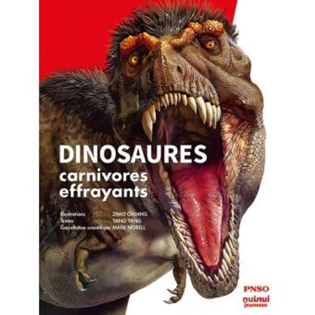 Dinosaures carnivores effrayants |