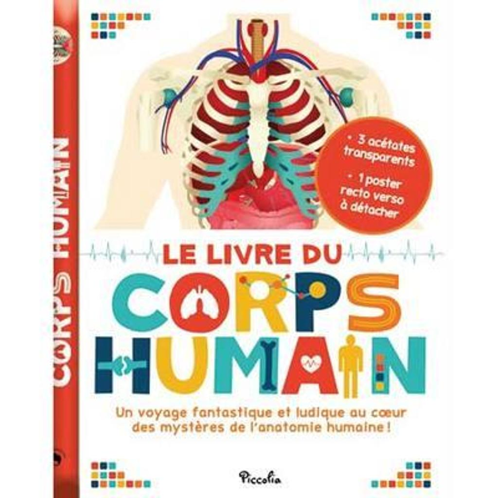Le livre du corps humain / petits génies |