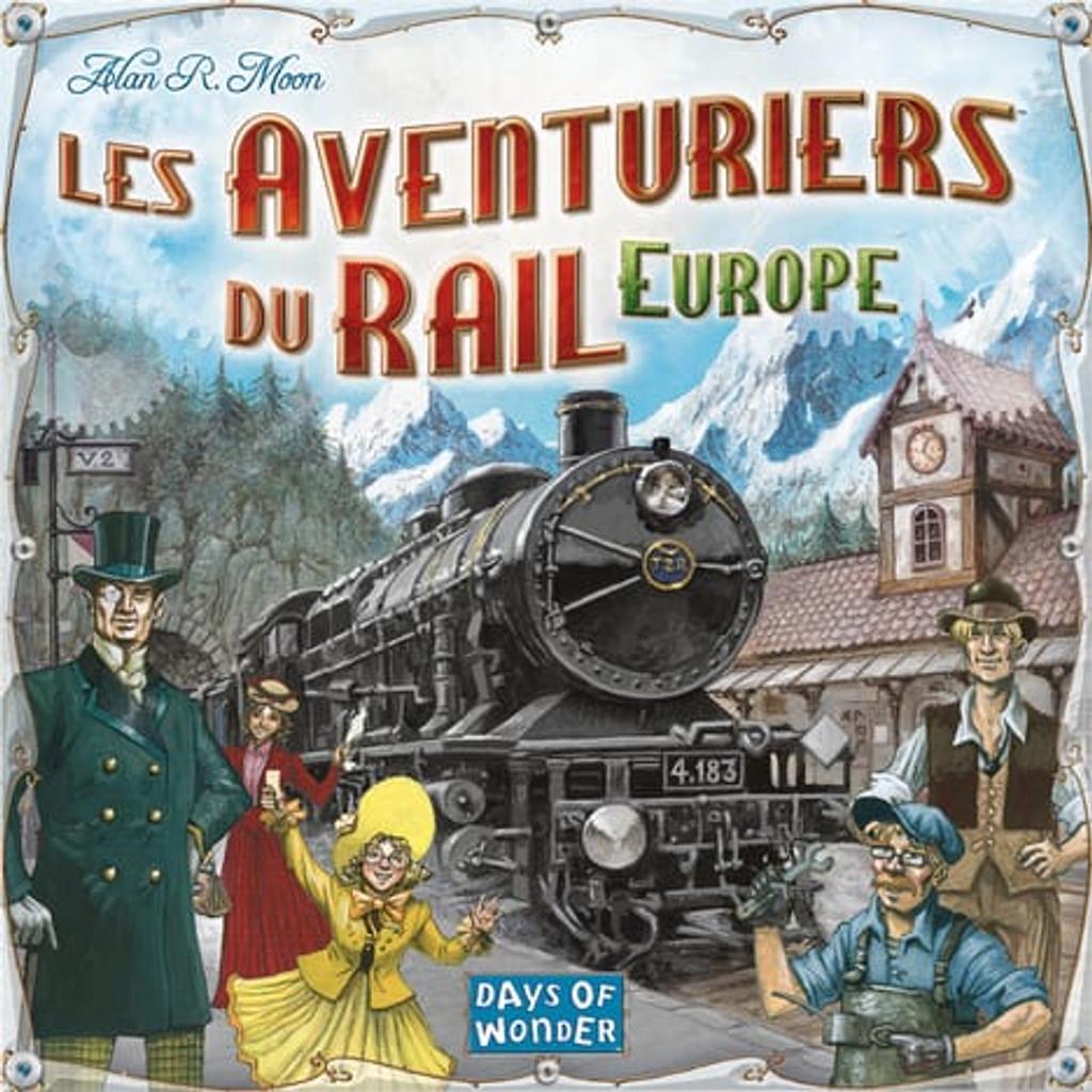 Les aventuriers du rail : Europe |